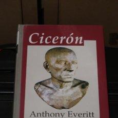 Livros em segunda mão: CICERÓN ANTHONY EVERITT EDHASA. Lote 244002420