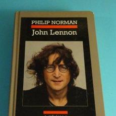 Libros de segunda mano: JOHN LENNON. PHILIP NORMAN. ANAGRAMA SERIE CRÓNICAS. TAPAS DURAS. PRIMERA EDICIÓN 2009. Lote 244441510