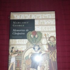 Libros de segunda mano: MEMORIAS DE CLEOPATRA. MARGARET GEORGE. Lote 244443980