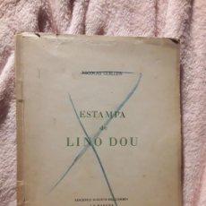 Libros de segunda mano: ESTAMPA DE LINO DOU, DE NICOLÁS GUILLÉN. DEDICADO. LA HABANA 1944. RARO. Lote 244610725