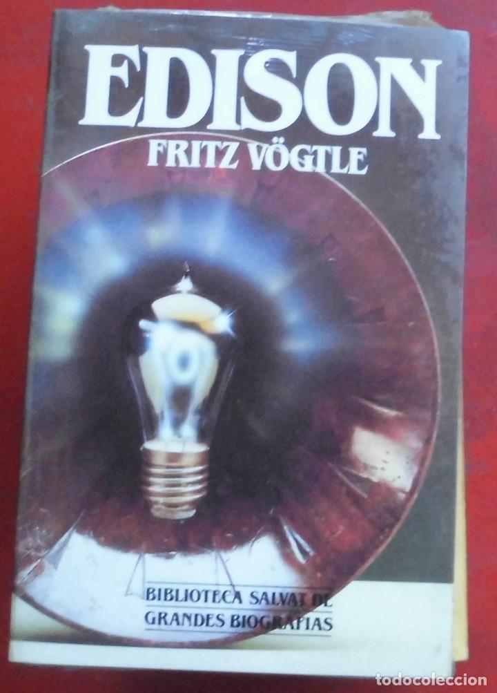 EDISON. FRITZ VÖGLE. EDITORIAL SALVAT. LIBRO NUEVO (Libros de Segunda Mano - Biografías)