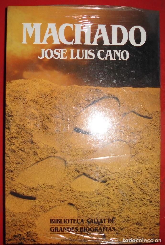 MACHADO. JOSÉ LUIS CANO. EDITORIAL SALVAT. LIBRO NUEVO (Libros de Segunda Mano - Biografías)