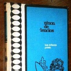 Libros de segunda mano: NINÓN DE LENCLÓS POR LUIS INFIESTA PRIETO DE ED. RODEGAR EN BARCELONA 1973 2ª EDICIÓN. Lote 244697125