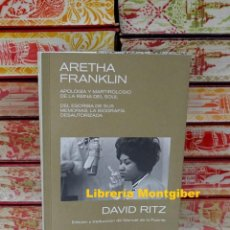 Libros de segunda mano: ARETHA FRANKLIN . AUTOR : RITZ , DAVID. Lote 244701625
