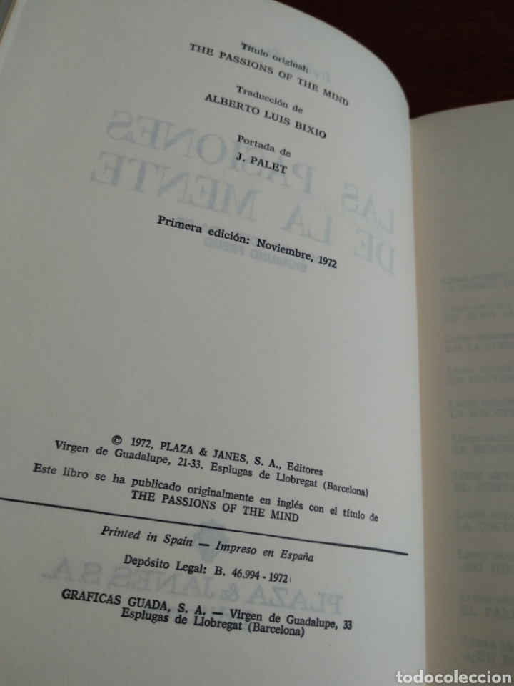 Libros de segunda mano: Libro antiguo Irving Stone - Foto 8 - 246079145