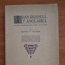 Livros em segunda mão: JUAN RUSSELL Y ANGLARILL - UN ARTISTA DE LA TIPOGRAFÍA ESPAÑOLA. Lote 246994780