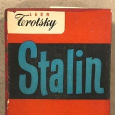 Libros de segunda mano: STALIN. LEON TROTSKY. EDITA LOS LIBROS DE NUESTRO TIEMPO 1947.. Lote 247100285