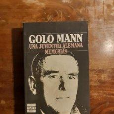 Libros de segunda mano: GOLO MANN MEMORIAS. Lote 248096180