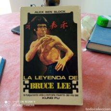 Livros em segunda mão: LA LEYENDA DE BRUCE E LEE 1° EDICIÓN 1974.. Lote 250139010