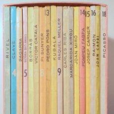 Libros de segunda mano: 18 FIGURES DE CATALUNYA (18 VOL. - COMPLET) - BARCELONA 1962 - ILUSTRADO. Lote 251847180