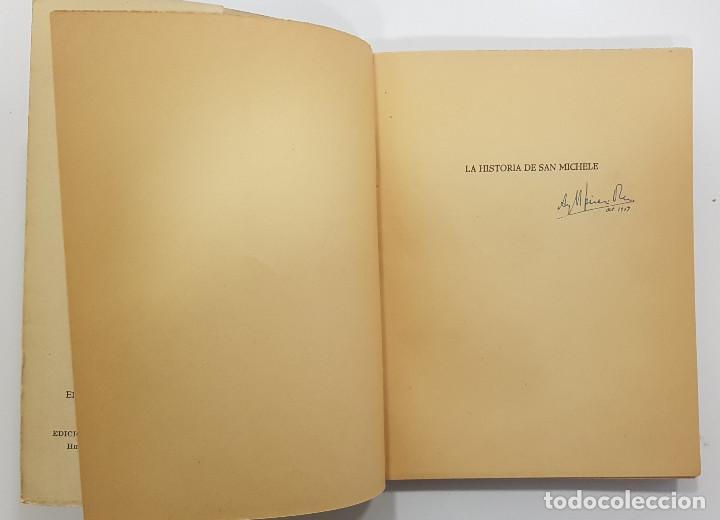 Libros de segunda mano: AXEL MUNTHE. LA HISTORIA DE SAN MICHELE. 1956. Ediciones CENIT. Buenos Aires, Argentina - Foto 2 - 253285455