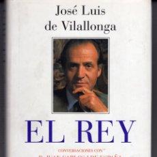 Libros de segunda mano: EL REY (JOSE LUIS DE VILALLONGA) PLAZA & JANES - CARTONE CON SOBRECUBIERTA - BUEN ESTADO - OFI15J. Lote 254326760
