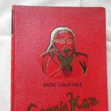 Libros de segunda mano: GENGIS KAN. 1960 RENE GROUSSET. Lote 254930905