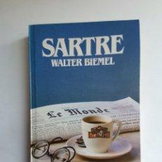 Libros de segunda mano: SARTRE WALTER BIEMEL GRANDES BIOGRAFÍAS. Lote 255660620