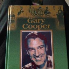 Libros de segunda mano: LIBRO BIOGRAFÍA GARY COOPER PERSONAJES DEL SIGLO 20 EDICIONES RUEDA AÑO 2002. Lote 255662915