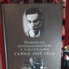 Libros de segunda mano: MEMORIAS Y ENTENDIMIENTOS Y VOLUNTADES - CELA, CAMILO JOSÉ. Lote 255664070