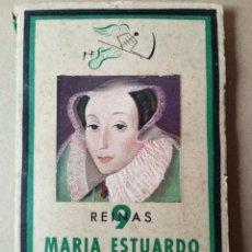 Libros de segunda mano: MARIA ESTUARDO LA REINA MARTIR -AÑO 1943 -VER FOTOS. Lote 256013225
