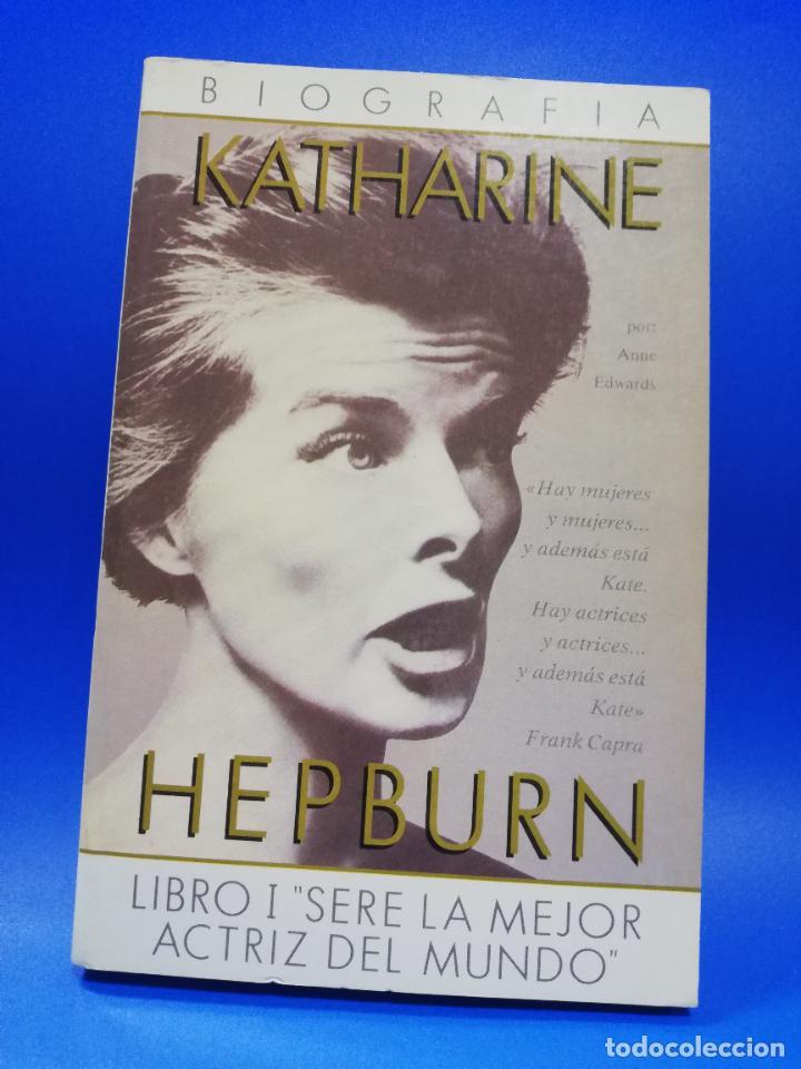 HEPBURN. BIOGRAFIA KATHARINE. GRECA. 1988 PAGS. 192. (Libros de Segunda Mano - Biografías)