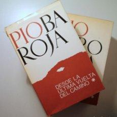 Libros de segunda mano: BAROJA, PIO - DESDE LA ÚLTIMA VUELTA DEL CAMINO. MEMORIAS ( 2 VOL.- COMPLETO) - BARCELONA 1970. Lote 257829425