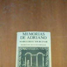Libros de segunda mano: MEMORIAS DE ADRIANO. Lote 258006155