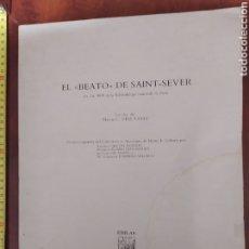 Livros em segunda mão: EL BEATO DE SAINT SEVER... Lote 258129465