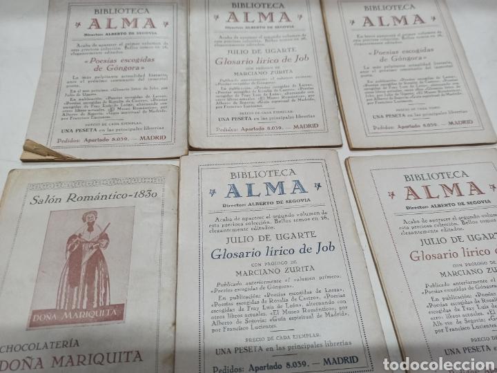 Libros de segunda mano: LOTE 12 BIOGRAFIAS COL. FIGURAS DE LA RAZA: JOAQUIN COSTA, ROSALES, RICARDO PALMA, PEDRO DE VALDIVIA - Foto 6 - 259257015