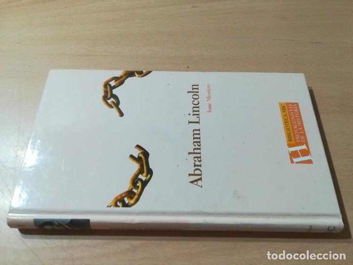 ABRAHAM LINCON / ISAAC MONTERO / ABC PROTAGONISTAS HISTORIA / AH55 (Libros de Segunda Mano - Biografías)