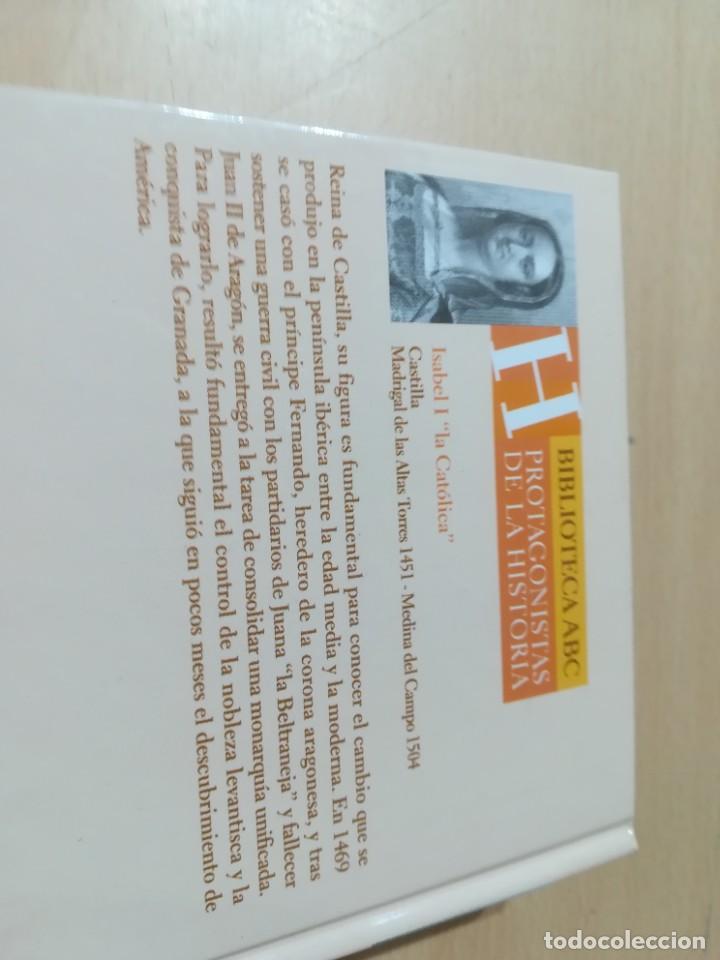 Libros de segunda mano: ISABEL LA CATOLICA / LUIS SUAREZ / ABC PROTAGONISTAS HISTORIA / AH55 - Foto 4 - 261121630