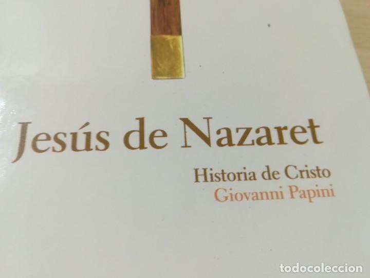 Libros de segunda mano: JESUS DE NAZARET / GIOVANNI PAPINI / ABC PROTAGONISTAS HISTORIA / AH55 - Foto 2 - 261121720