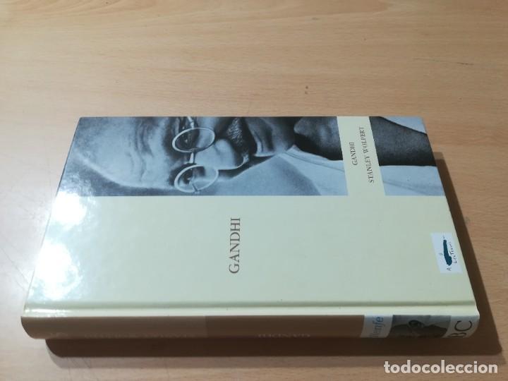 GANDHI / STANLEY WOLPERT / ABC PROTAGONISTAS SIGLO XX / AH55 (Libros de Segunda Mano - Biografías)