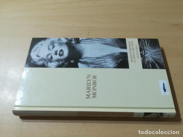 MARILYN MONROE / LUIS GASCA / ABC PROTAGONISTAS SIGLO XX / AH55 (Libros de Segunda Mano - Biografías)