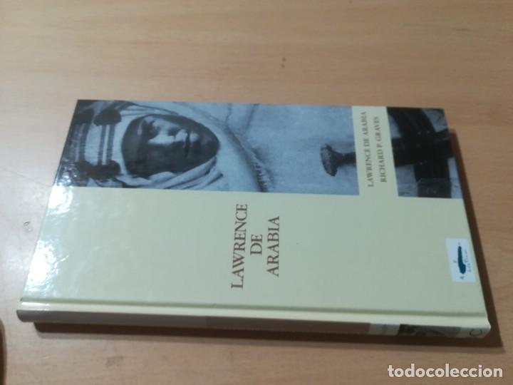 LAWRENCE DE ARABIA / RICHARD P GRAVES / ABC PROTAGONISTAS SIGLO XX / AH55 (Libros de Segunda Mano - Biografías)