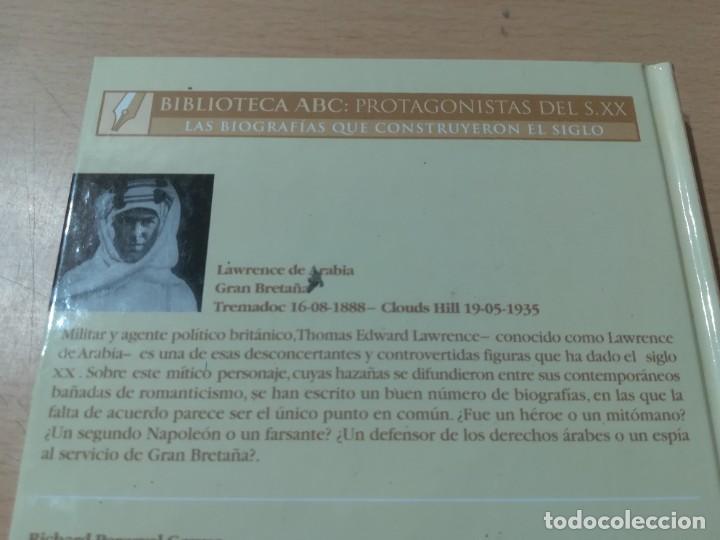 Libros de segunda mano: LAWRENCE DE ARABIA / RICHARD P GRAVES / ABC PROTAGONISTAS SIGLO XX / AH55 - Foto 4 - 261122005