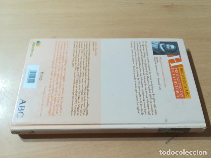 Libros de segunda mano: MIGUEL DE CERVANTES / ANDRES TRAPIELLO / ABC PROTAGONISTAS HISTORIA / CONS117 - Foto 2 - 261122940