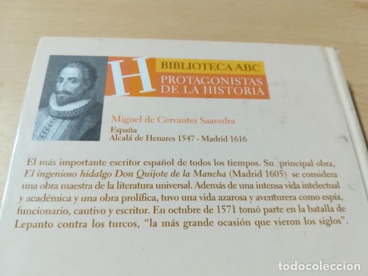 Libros de segunda mano: MIGUEL DE CERVANTES / ANDRES TRAPIELLO / ABC PROTAGONISTAS HISTORIA / CONS117 - Foto 3 - 261122940