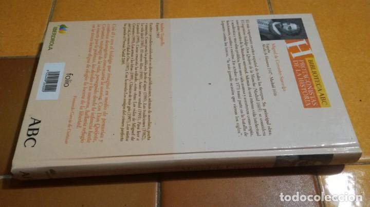 Libros de segunda mano: MIGUEL DE CERVANTES / ANDRES TRAPIELLO / ABC PROTAGONISTAS HISTORIA / X101 - Foto 2 - 261125110
