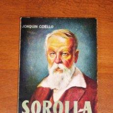 Libros de segunda mano: COELLO, JOAQUÍN. SOROLLA (ENCICLOPEDIA PULGA ; 279) / PORTADA E ILUSTRACIONES DE CHACO. Lote 262173470