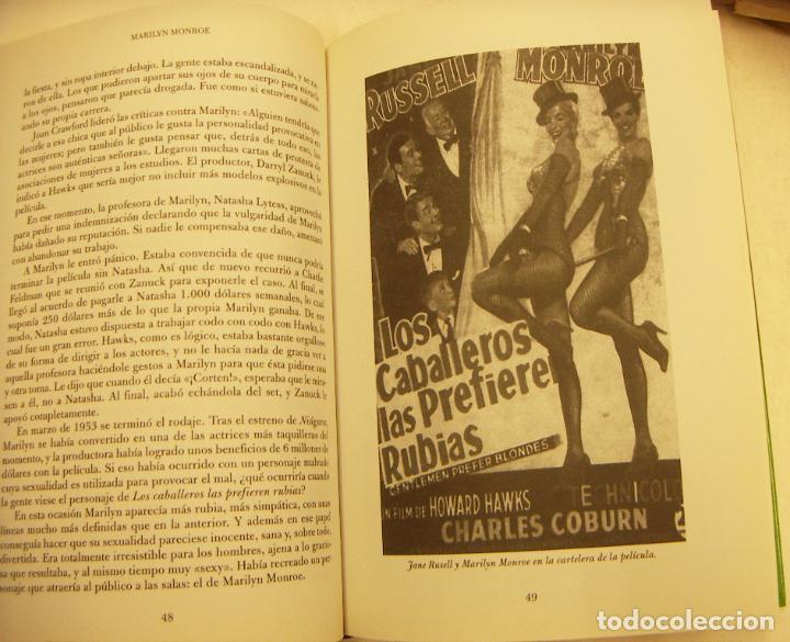 Libros de segunda mano: Marilyn Monroe Personajes del siglo XX Ediciones Rueda 2002 164 paginas - Foto 4 - 262775530