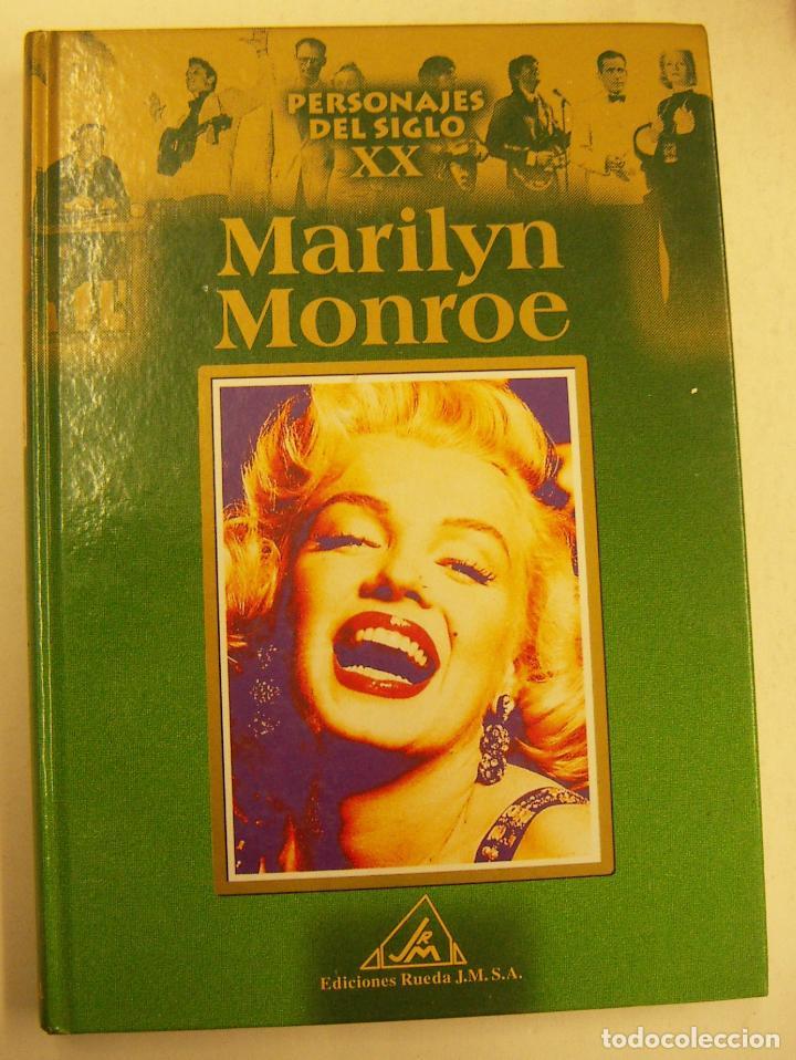 MARILYN MONROE PERSONAJES DEL SIGLO XX EDICIONES RUEDA 2002 164 PAGINAS (Libros de Segunda Mano - Biografías)