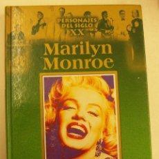 Libros de segunda mano: MARILYN MONROE PERSONAJES DEL SIGLO XX EDICIONES RUEDA 2002 164 PAGINAS. Lote 262775530