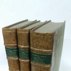 Libros de segunda mano: 1941 - GONZÁLEZ PALENCIA - VIDA Y OBRAS DE DON DIEGO HURTADO DE MENDOZA. 3 TOMOS (OBRA COMPLETA). Lote 262781350