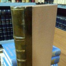 Libros de segunda mano: 1951 - SÁNCHEZ CANTÓN - VIDA Y OBRAS DE GOYA. Lote 262808970