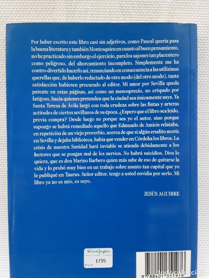 Libros de segunda mano: Jesús Aguirre, Duque de Alba - Crónica en la comisaría (Plaza & Janés 1992) Memorias - Foto 2 - 263176845