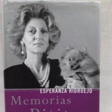 Libros de segunda mano: ESPERANZA RIDRUEJO - MEMORIAS DE PITITA (TEMAS DE HOY, 2002) SEGUNDA EDICIÓN. Lote 263176980