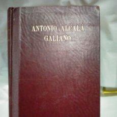 Libros de segunda mano: FELIPE XIMÉNEZ DE SANDOVAL. ANTONIO ALCALÁ GALIANO .ESPASA-CALPE. Lote 263210525