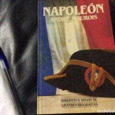Libros de segunda mano: NAPOLEÓN, ANDRÉ MAUROIS.. Lote 263211200
