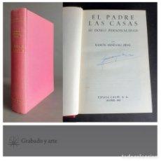 Libros de segunda mano: EL PADRE LAS CASAS. RAMÓN MENÉNDEZ PIDAL. ESPASA CALPE. GRANDES BIOGRAFÍAS 1963. Lote 263632775