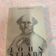 Libros de segunda mano: JOHN STUART MILL, AUTOBIOGRAFÍA. Lote 263652690