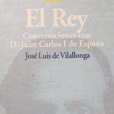 Libros de segunda mano: EL REY. JOSÉ LUIS DE VILLALONGA.. Lote 264524694