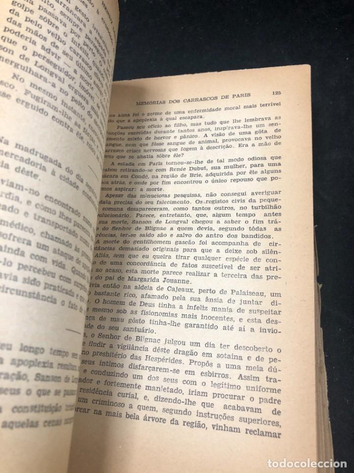 Libros de segunda mano: Memórias dos Carrascos de Paris. Henry Sanson. 1946 Empresa gráfica O Cruzeiro Brasil. Portugués. - Foto 9 - 265340744